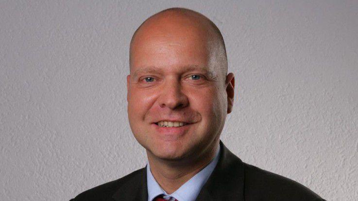 """Christof Müller, Immobilienscout 24: """"Mittlere Manager müssen viel Druck von oben und unten aushalten können."""""""