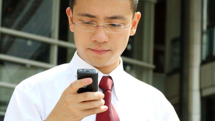 Einfache Handys haben Zukunft.