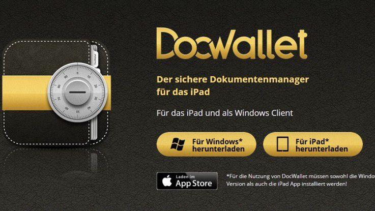 DocWallet bietet sich als Dropbox-Alternative für iPad und iPhone an.