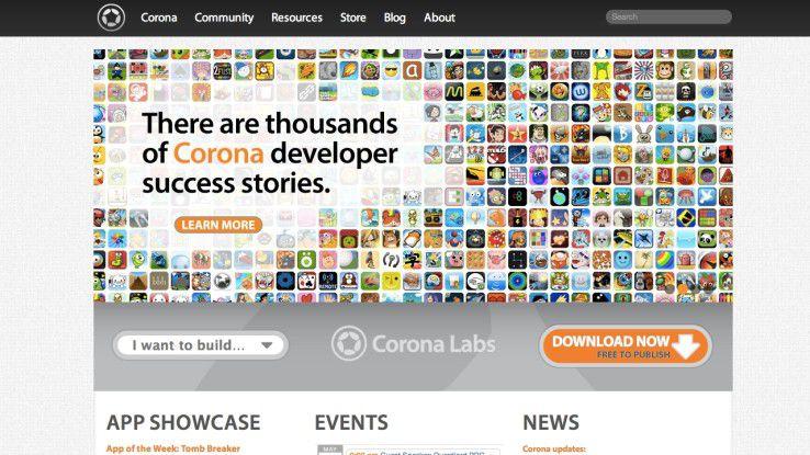 Die Corona-SDK-Community wächst stetig.