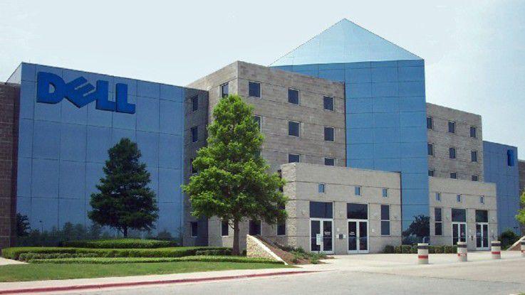 Dell-Zentrale in Round Rock, einem Vorort von Houston (TX)