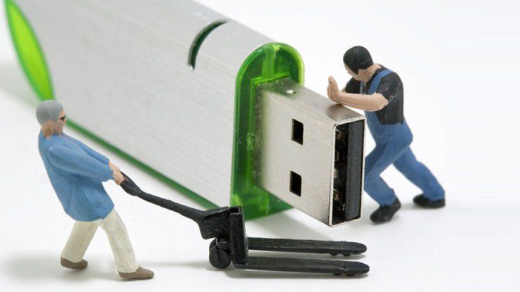 Warum PCs auf einem USB-Stick eine wirklich schlechte Idee sind.