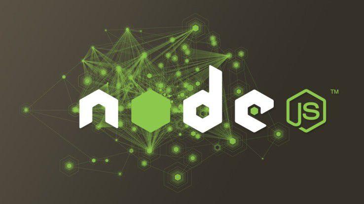 Node.js macht JavaScript auf dem Server lauffähig.