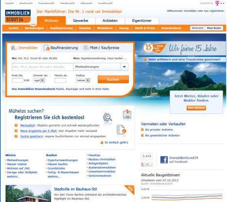 Um eine attraktive Web-Seite anbieten zu können, benötigt ImmobilienScout auch intern ein lesitungsfähiges Netz.