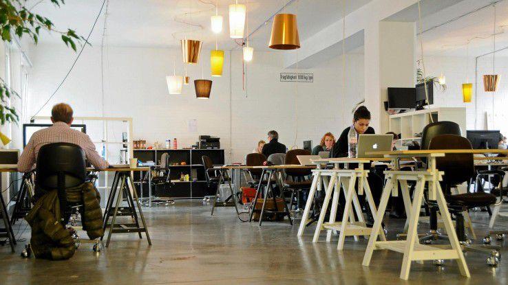 Das Betahaus in Berlin ist der größte Coworking Space in deutschland.