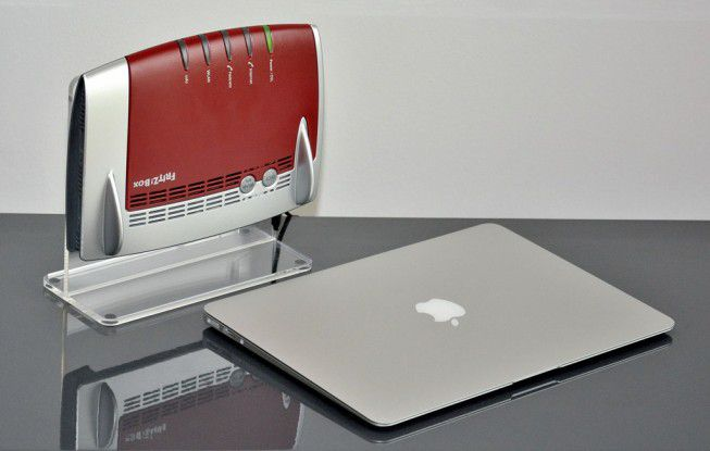 AVM Fritzbox 7490 mit MacBook Air 13.3