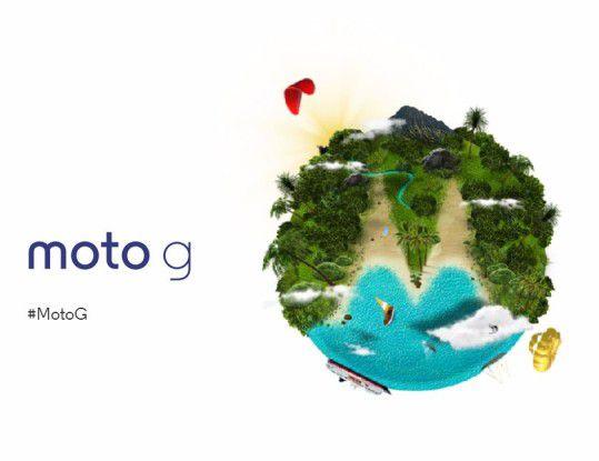 Motorola macht's spannend: Auf der Website Moto-G.com kann man sich für die Live-Präsentation anmelden.