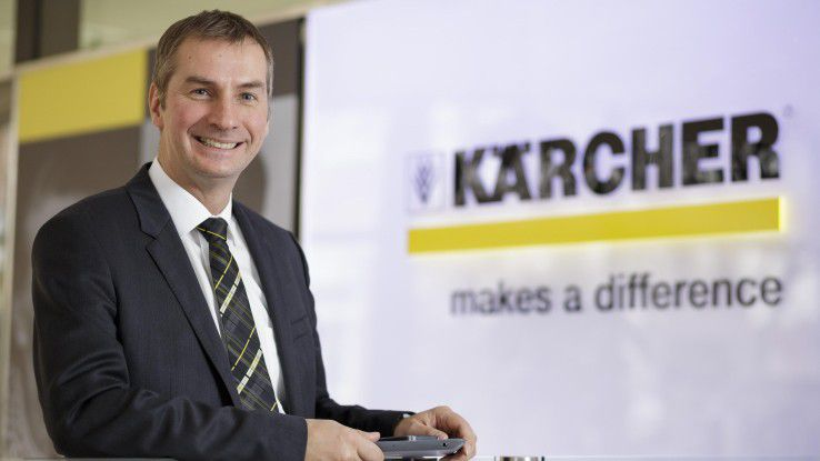 Matthias Mehrtens, CIO bei Kärcher, findet die Mischung aus traditionsreichen Familienbetrieb und international agierenden Weltmarktführer sehr spannend.