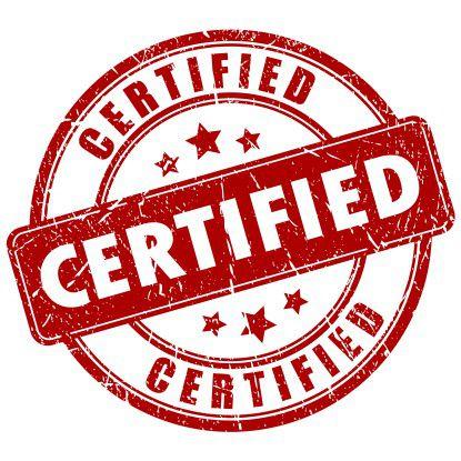 Der Weg zur Zertifiizierung ist lang und steinig.