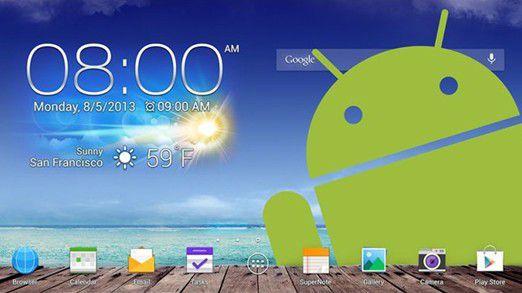 Android 4 in Unternehmen: Neben Sicherheitsproblemen ist auch die Versions- und Gerätevielfalt beim professionellen Einsatz von Android-Geräten eine echte Herausforderung.