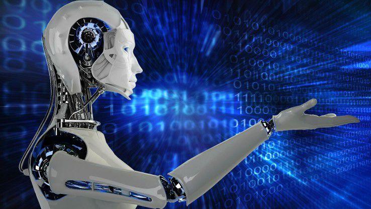 Kollege Roboter auf dem Vormarsch: 2019 sollen bereits 72 Prozent der Unternehmen RPA im Einsatz haben.