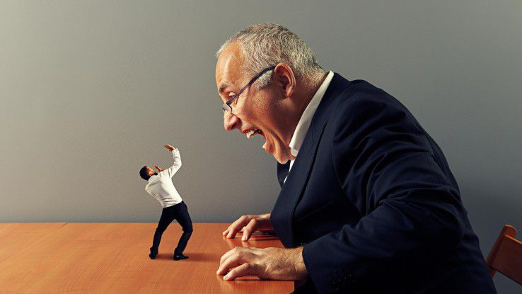 Es sind nicht nur die Angestellten, die unter einem cholerischen Chef leiden - auch der Körper des Jähzornigen selbst leidet.