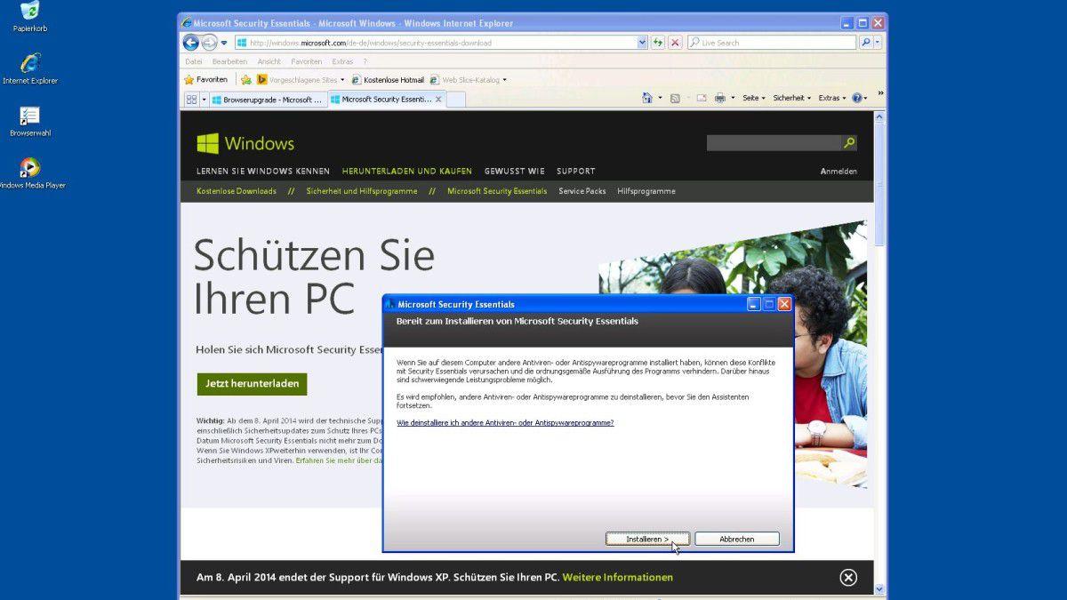 Windows-Oldtimer: Nicht ins Netz mit alten Systemen! - computerwoche.de