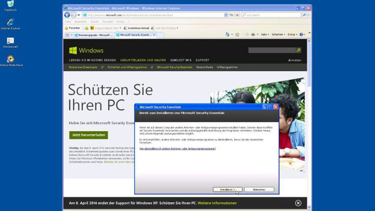 Es ist aus: Der Support alter Windows-Versionen läuft aus.
