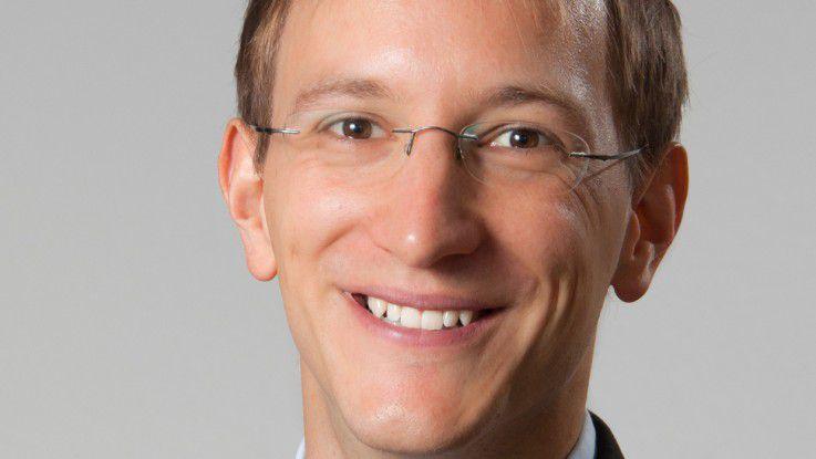Christian Seeger startete neben der Promotion ein IT-Forschungsprojekt.