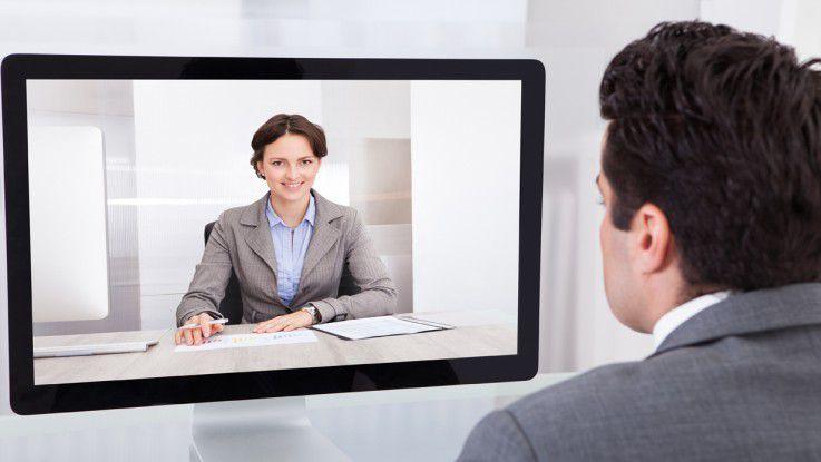 Mit Techniken wie WebRTC kommt der Berater ins Wohnzimmer - virtuell natürlich.