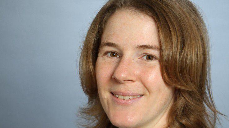 Heike Günter treibt ihre Karriere bei HP durch den Aufbau eines firmeninternen Netzwerkes voran.