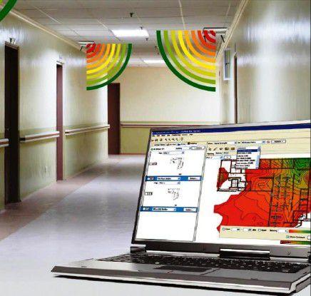 Software-Programme wie AirMagnet WiFi Analyzer, Aruba Visual RF Plan, Ekahau Site Survey Pro, InSSIDer, Network Stumbler, Xirrus Wi-Fi Inspector können bei der Planung, Erweiterung und laufenden Verbesserung von WiFi-Netzen helfen.