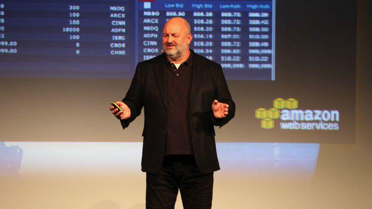 Werner Vogels Amazon beim AWS Summit 2014 Berlin