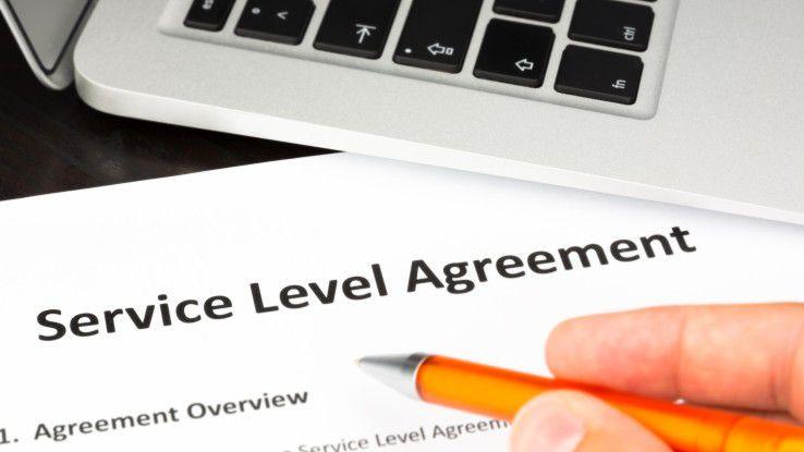 Mit einer Unterschrift ist es nicht getan. Wichtig ist es, die zugesicherten Leistungen des Providers im folgenden Betrieb auch überprüfen zu können.