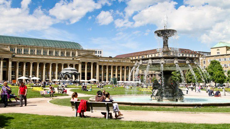 Stuttgart ist bundesweit Exportmeister und Deutschlands drittgrößtes Finanzzentrum.