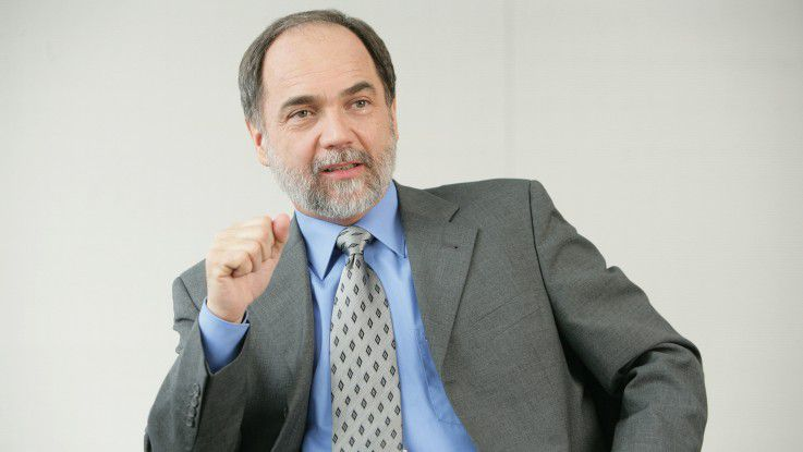 """Josef Reger, CTO von Fujitsu: """"Die Konvergenz wird auch Auswirkungen haben auf die Art, wie man wirtschaftet."""""""