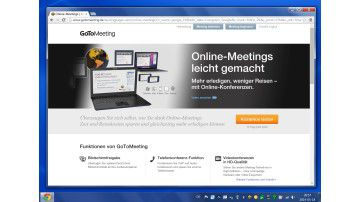 Videokonferenz mit Citrix GoToMeeting