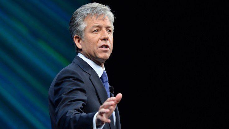 SAP-Chef Bill McDermott verspricht sich durch die Concur-Akquisition einen Schub fürs Cloud-Geschäft.