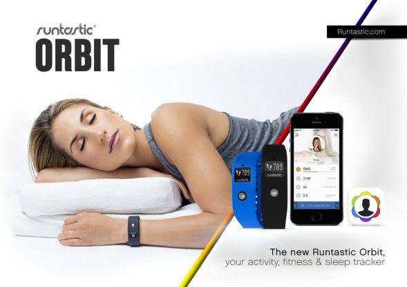Runtastic Orbit zeichnet Bewegungen, Fitnessaktivitäten und Schlafphasen der Träger auf.