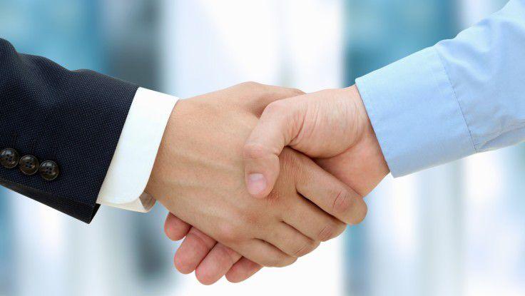 Vor allem Einkaufs- und IT-Abteilungen suchen über Personalvermittler IT-Freiberufler.