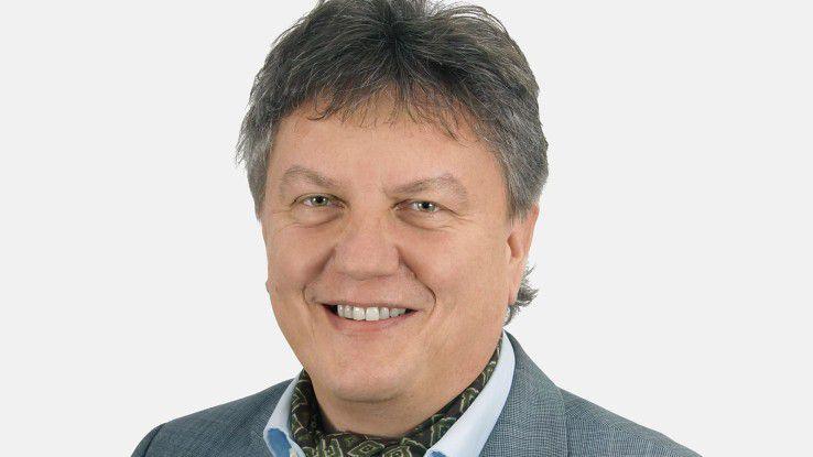 """Fritz Greitsch, Leiter MS Competence Group bei der DV-Ratio SMC GmbH: """"Jüngere Ansprechpartener fördern und fordern die Einführung von Kommunikationsplattformen im Business-Umfeld."""""""