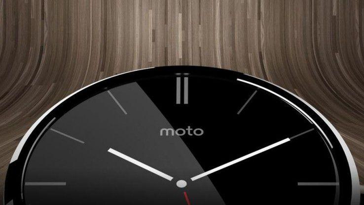 Funktioniert nun auch mit iOS-Geräten: Moto 360