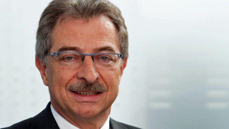 Die Datev wächst schneller als der IT-Markt insgesamt, betont Vorstandschef Dieter Kempf.