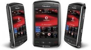 Schlechter Start wegen Softwarepannen: RIMs Blackberry Storm.