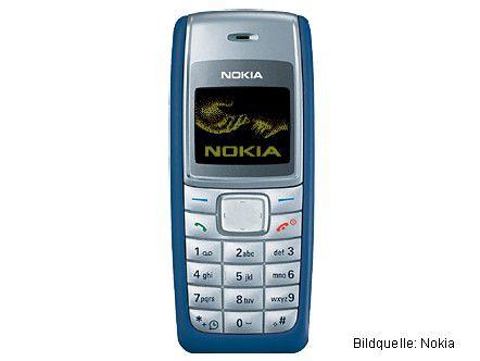 Betrugswerkzeug oder doch nur einfaches Handy? Das Nokia 1100