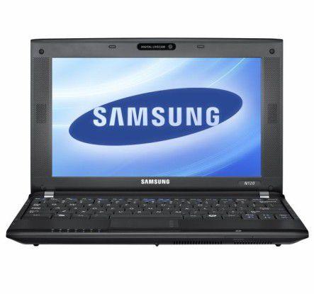 Netbook mit langer Akkulaufzeit im Test: Samsung N120.