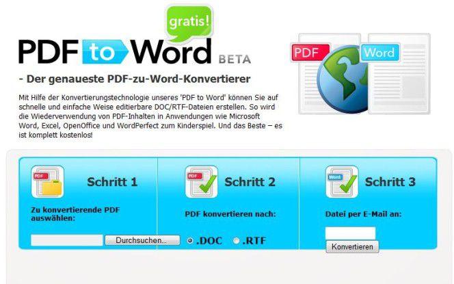PDF KONVERTIEREN WORD KOSTENLOS PDF