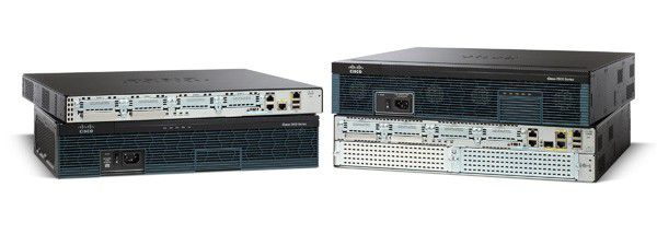 Netzwerk-Router: Cisco 2900 Series Integrated Services Router.