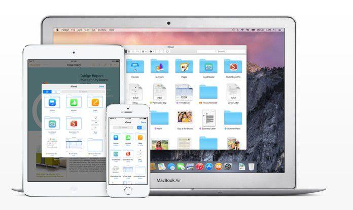 Apple positioniert die iCloud Drive als zentralen Cloud-Speicher.