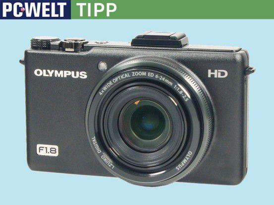 Olympus XZ-1 Preis: rund 350 Euro; Auflösung: 10 Megapixel; Objektiv: 4fach-Zoom; kontrastreicher OLED-Bildschirm