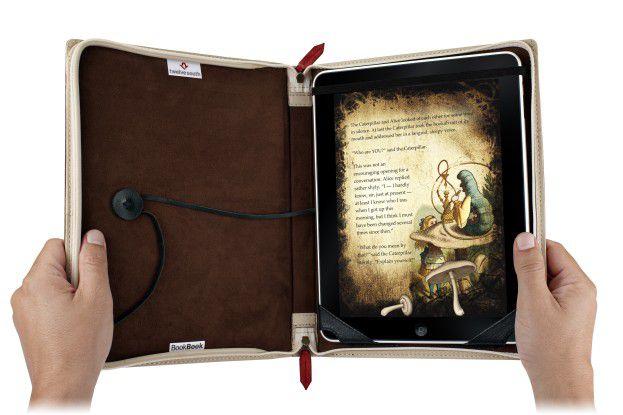 Eher problematisch: Das Ur-Bookbook für das erste iPad hatte mit Problemen zu kämpfen.
