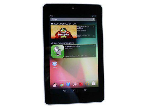 Das Google Nexus 7 ist günstig - aber auch gut? Tablets unter 200 Euro im Test