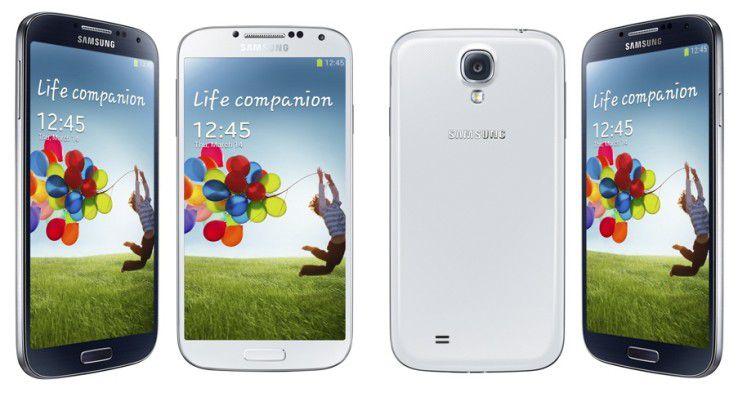 Das Samsung Galaxy S4 bietet hochwertige Technik in einem schnöden Kunststoffgehäuse.