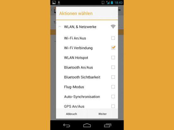 Praktisch ist beispielsweise ein Tag, der das Smartphone automatisch mit einem WLAN verbindet.