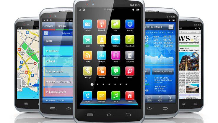 Großes Touchdisplay, dünnes, meist dunkles Gehäuse: Smartphones sind austauschbar geworden
