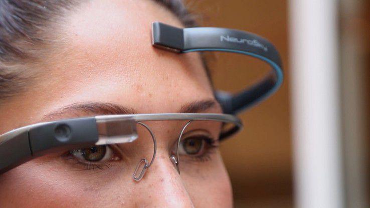 MindRDR kann Funktionen von Google Glass durch Gedanken steuern.