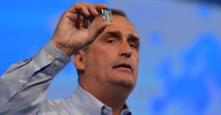 Brian Krzanich musste den strengen Ethikregeln bei Intel Tribut zollen.