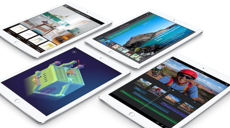 Beim neuen iPad Air 2 ändert sich an den Äußerlichkeiten nur wenig.