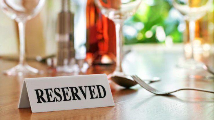 Reserviert ist reserviert: Wenn Sie eine Reservierung nicht stornieren und nicht erscheinen, kann der Wirt Schadensersatzansprüche geltend machen.