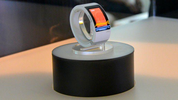 Ähnelt früheren iWatch-Entwürfen: Die Smartwatch Will.i.am Puls